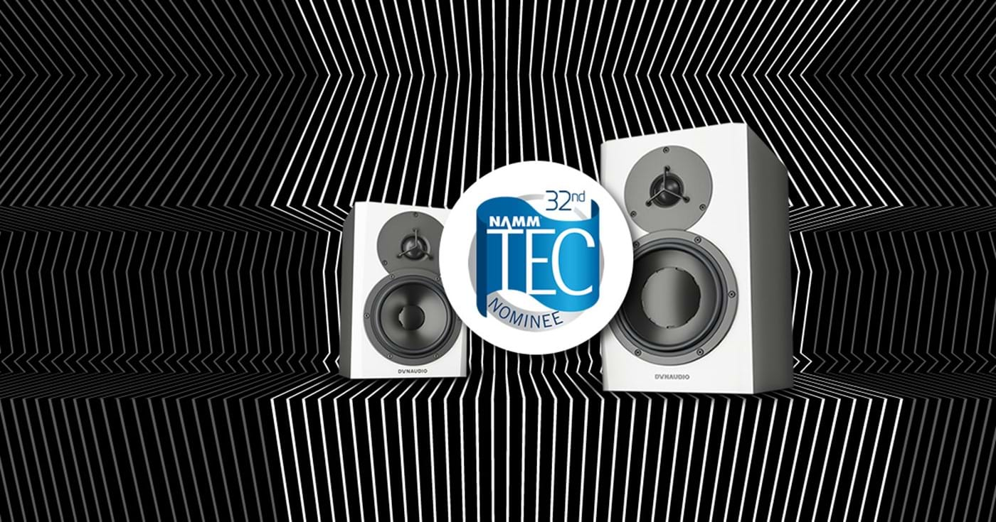 LYD speakers are nominated for 32nd TEC NAMM award