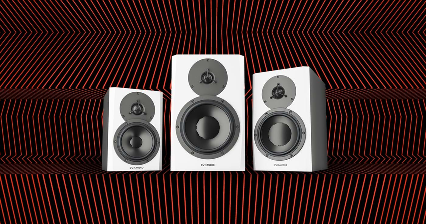 Dynaudio LYD speakers