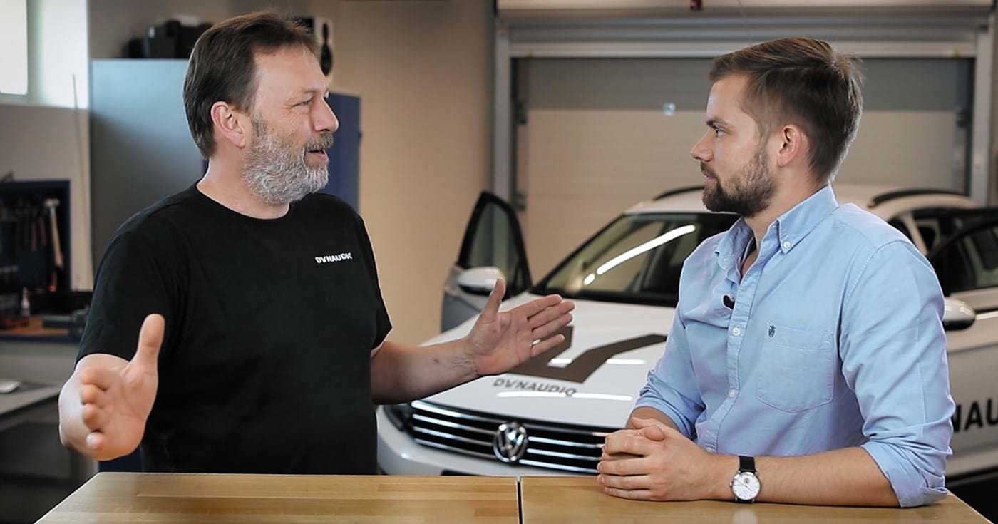 Ask the Expert with Morten Hermansen who talks about tuning hi-fi sound systems for cars