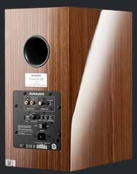 Back of Focus 20 XD in Walnut High Gloss