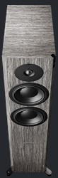 Top of Focus 30 XD in Grey Oak High Gloss