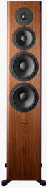 Front of Focus 60 XD in Walnut High Gloss