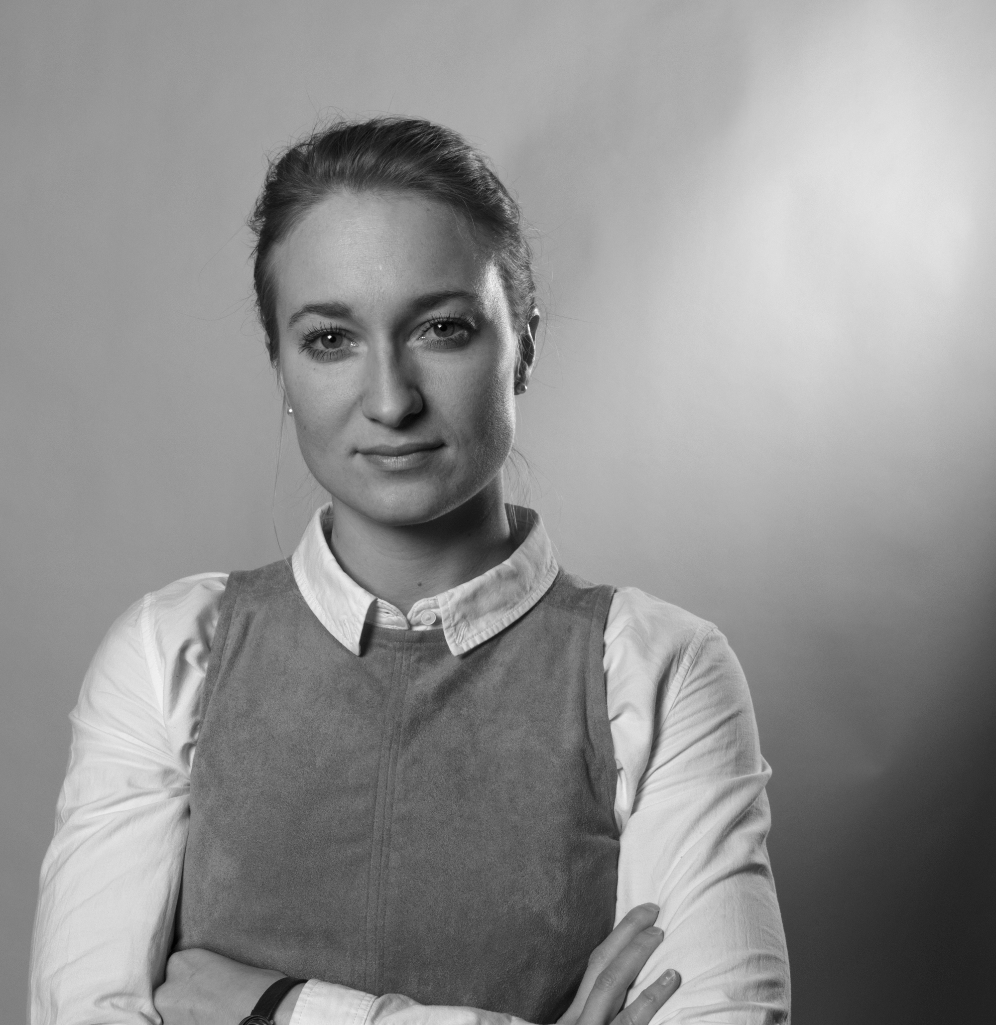 Portrait of HR consultant Steffie Lund